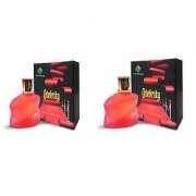 Xavier Savor Celebrity EDT Perfume Pack of 2 of 100ml each For Men Women