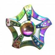 OJADE 5-Blade arco iris flores Spinner EDC dedo juguete-de colores