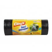 Clinox saci menajeri Extra Strong 60L/50buc HDPE negri