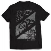 PhD Game of Thrones - T-Shirt Wolf, Dragon & Lion