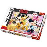 Puzzle Buna dimineata Mickey, 160 piese