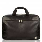 Knomo Amesbury Leather Briefcase Black 15.6 inch