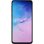Samsung - Geek Squad Certified Refurbished Galaxy S10e with 256GB Memory Cell Phone (Unlocked) - Prism Blue