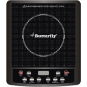 Butterfly JET HOB Induction Cooktop(Black, Touch Panel)