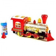 Battery Operated Bubble Shooter train Engine with light Music(Multicolor)
