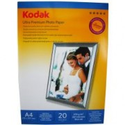 Hartie foto Kodak A4 RC Ultra Premium High Glossy 270g/mp pachet 20 coli