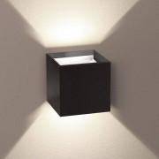s.LUCE IIxa pro Außenwandlampe mit verstellbaren Winkel Schwarz