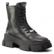Боти STEVE MADDEN - Tanker SM11001261-03001-017 Black Leather