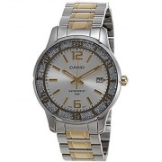 Casio Enticer Analog Silver Dial Womens Watch - LTP-1359SG-7AVDF (A901)