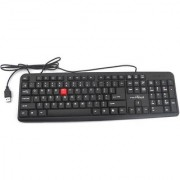TECHON to Wired USB Laptop Keyboard-435 (Black)