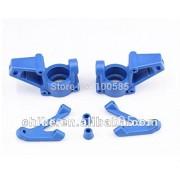 Generic Blue : Heavy Duty Nylon Front Steering Knuckle arm - Blue/white for 1/5 hpi km rv baja 5b 5t 5sc 85086