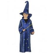 Vegaoo Kinder-Kostüm - Zauberer - blau