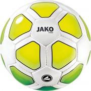 Jako - Trainingsbal Striker - Voetbal - Wit - Geel - Groen - 290 Gram