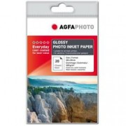 ORIGINAL Agfa Photo Carta Bianco AP18020A6 Carta da foto, DIN A6, 180 g/m², 20 fogli, rivestita, patinata
