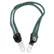 Bibia snelbinder Quattro Strong 6 mm 61 cm zwart/groen