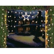LED Lichtervorhang Sternenvorhang Lichterkette Sterne Deko ~ Variantenangebot
