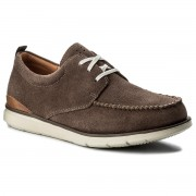 Обувки CLARKS - Edgewood Mix 261317347 Taupe Suede