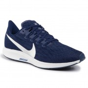 Обувки NIKE - Air Zoom Pegasus 36 AQ2203 401 Blue Void/Metallic Silver