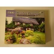 """1000 Piece Garden Cottages """"Century Thatched Farmhouse"""" Puzzle"""