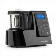 Kitchen Hero 9-in-1, čierny, 2 l, 600/1300 W, топлинен кухненски робот