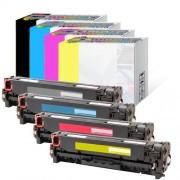 HP Color LaserJet CM2320nf MFP toner cartridge CC530A Multi-color 4-pack
