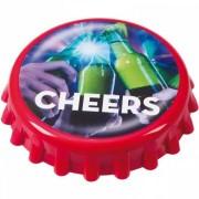 Kapsylöpnare, cheers