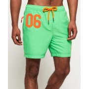 Superdry Waterpolo Swim Shorts Green