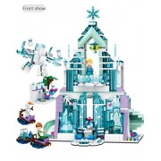 Generic 37016 Selling 71 Princess Elsa Magic Ice Castle Building Blocks Toys Model Birthday Gift 37016