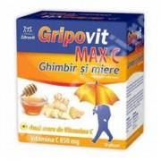 Gripovit Max C Ghimbir si Miere 10dz Zdrovit