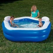 Bestway Детски басейн, син, 213x207x69 cм, 54153