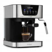 Klarstein Arabica, кафемашина за еспресо, 1050W, 15 бара, 1.5л, сензорен контрол, неръждаема стомана (TK8-Espresso, 1.5L)