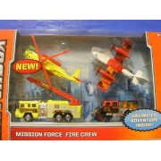 Matchbox Mission Fire Crew Play Set