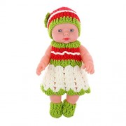 """Magideal 11"""" Lifelike Baby Dolls Silicone Vinyl Soft Newborn Doll in Knit Suit"""