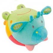 Детска плюшена играчка - Топка с 4 звука - Safari - BabyFehn, 263611