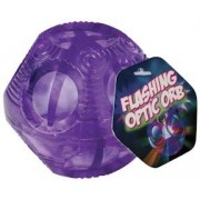 Flashing Optic Orb w Multi Colored Light Show 3 Inch Ball Colors Vary