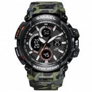 SMAEL 1708B Sport Watches Men Watch Waterproof LED Digital Watch Male Clock