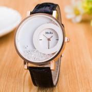 MxRe Black Diamond Fancy Analog Designer Wrist Watches For Women's