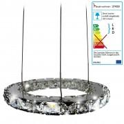 LED-Hängeleuchte HW152, Hängelampe Deckenleuchte Pendelleuchte, Kristallglas 8W EEK A ~ Variantenangebot