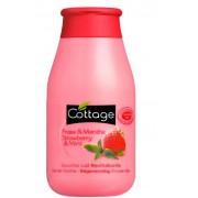 Gel de Dus Cottage cu Aroma de Capsuni si Menta 250 ml