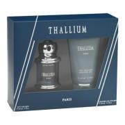 Paris Bleu Thallium - zestaw woda toaletowa, żel pod prysznic