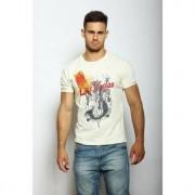 Epatage Мужская футболка с короткими рукавами бежевого цвета Epatag RT050558m-EP