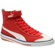 Puma 917 Mid DP Canvas Shoes For Men(Red)