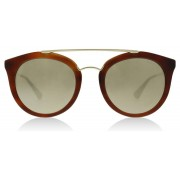 Prada PR23SS Sunglasses Striped Brown USE1C0 52mm