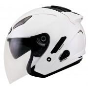 KYT Hellcat Jet helma S Bílá