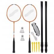 Stiga badmintonset Deluxe DS 7-delig
