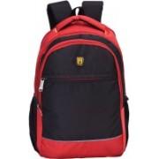 Blowzy backpacks Waterproof 21 L Laptop Backpack(Red, Black)