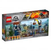 Lego Ataque Del Dilofosaurio Al Pue Lego 75931