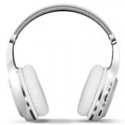 Bluedio H+ Turbine draadloze Bluetooth 4.1 Stereo hoofdtelefoon hoofdtelefoon met Mic & Micro SD Card Slot & FM-Radio voor iPhone Samsung Huawei Xiaomi HTC en andere Smartphones alle Audio Devices(White)