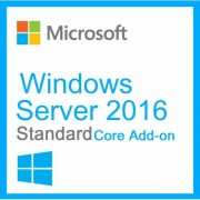 MICROSOFT Windows Server Standard 2016 - Core Add-on 2 Noyaux / 2 Cœurs