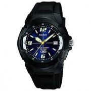 Casio Enticer Analog Blue Dial Mens Watch - MW-600F-2AVDF (A506)